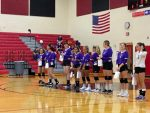 Girls Junior Varsity Volleyball falls to Fairfield 2 – 0