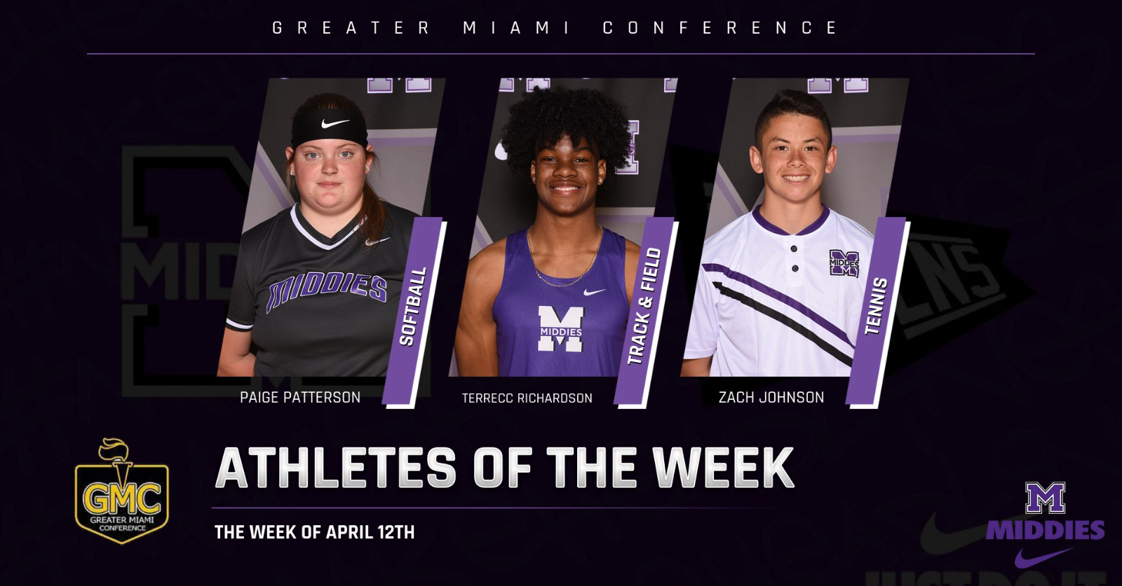 GMC ATHLETES OF THE WEEK