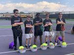 Boys Varsity Tennis beats Norwood 5 – 0 on Senior Night!