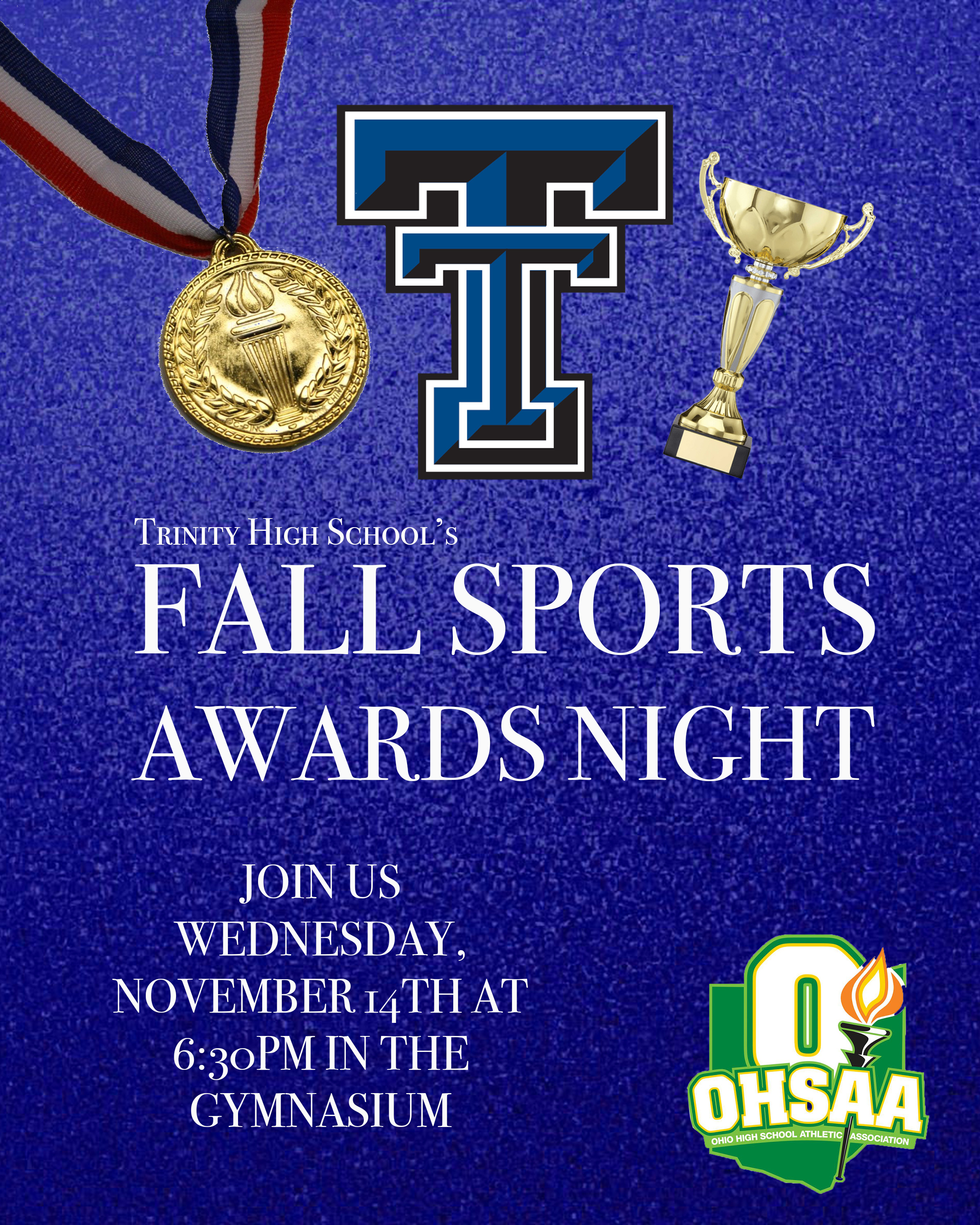 FALL SPORTS AWARDS NIGHT: