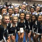 Cheerleading Team Qualifies for States