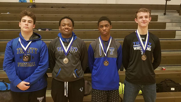 Four Wrestlers Place at the NCL Tournament