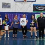 Lady Trojans Celebrate Senior Night with a Victory
