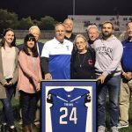 Mike Hudec's #24 Jersey Retired