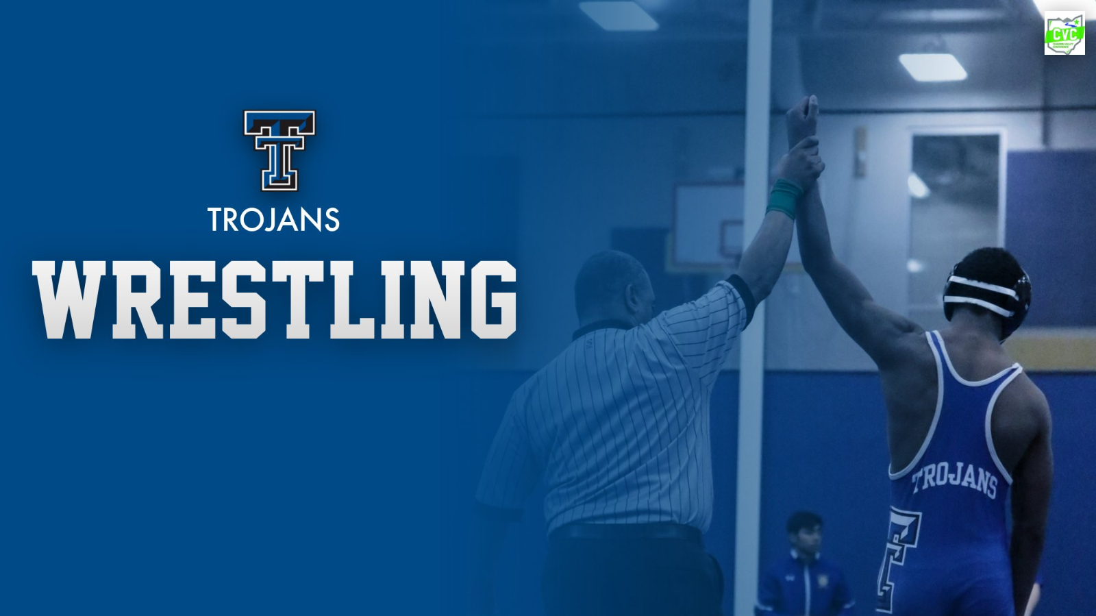 Wrestlers Compete in Double Dual at Lutheran West