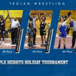 Trojans Place Three at Holiday Tournament
