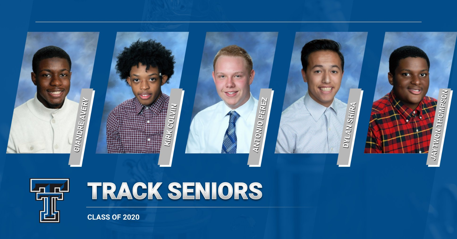 CLASS OF 2020 TRIBUTE: BOYS TRACK
