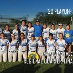 LADY MUSTANGS – QUARTER-FINAL CHAMPS!