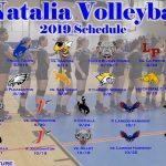 Natalia Varsity Volleyball 2019