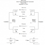 JV1 Volleyball: Holy Cross Tourney scheduled for September 14