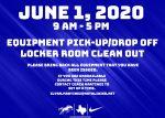 Locker Clean Out & Equipment Drop-Off