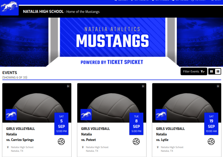High School Volleyball vs Lytle, Saturday September 19th, 2020 – Ticket Information