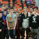 Boys Varsity Wrestling finishes 1st place at Clio Invitational
