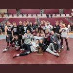 Boys Varsity Wrestling finishes 1st place at Wrestling Team Regionals @ tba