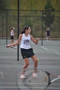 PHS Tennis verses Keenan 9-22-15