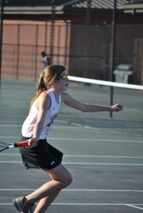 Tennis vs. Newberry 10-14-15