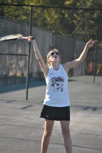 Tennis vs Mid Carolina and Eau Claire 10-20-15