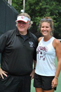 Tennis Scrimmage @ Barnwell 8-20-16