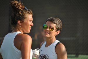 Tennis @ Heathwood Hall 8-23-16