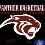 PANTHER BASKETBALL SENIOR NIGHT TONIGHT !!