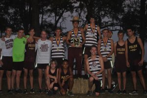 Cross Country at Santee Invitational