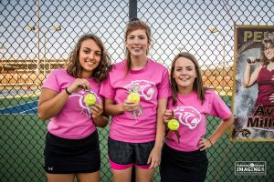 Women's Tennis – Senior Night – More on PalmettoSportsImaging.com