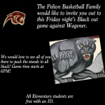 Black Out Friday Night – Elementary Students Enter Free!
