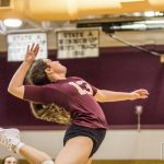 Varsity Volleyball falls to Bishop England 3 – 0