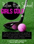 Interested in Playing Women's Golf for PHS?