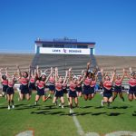 JV Cheerleading receives new uniforms!