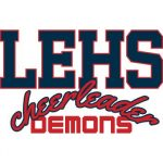 Logo- LEHS Demons Cheerleader