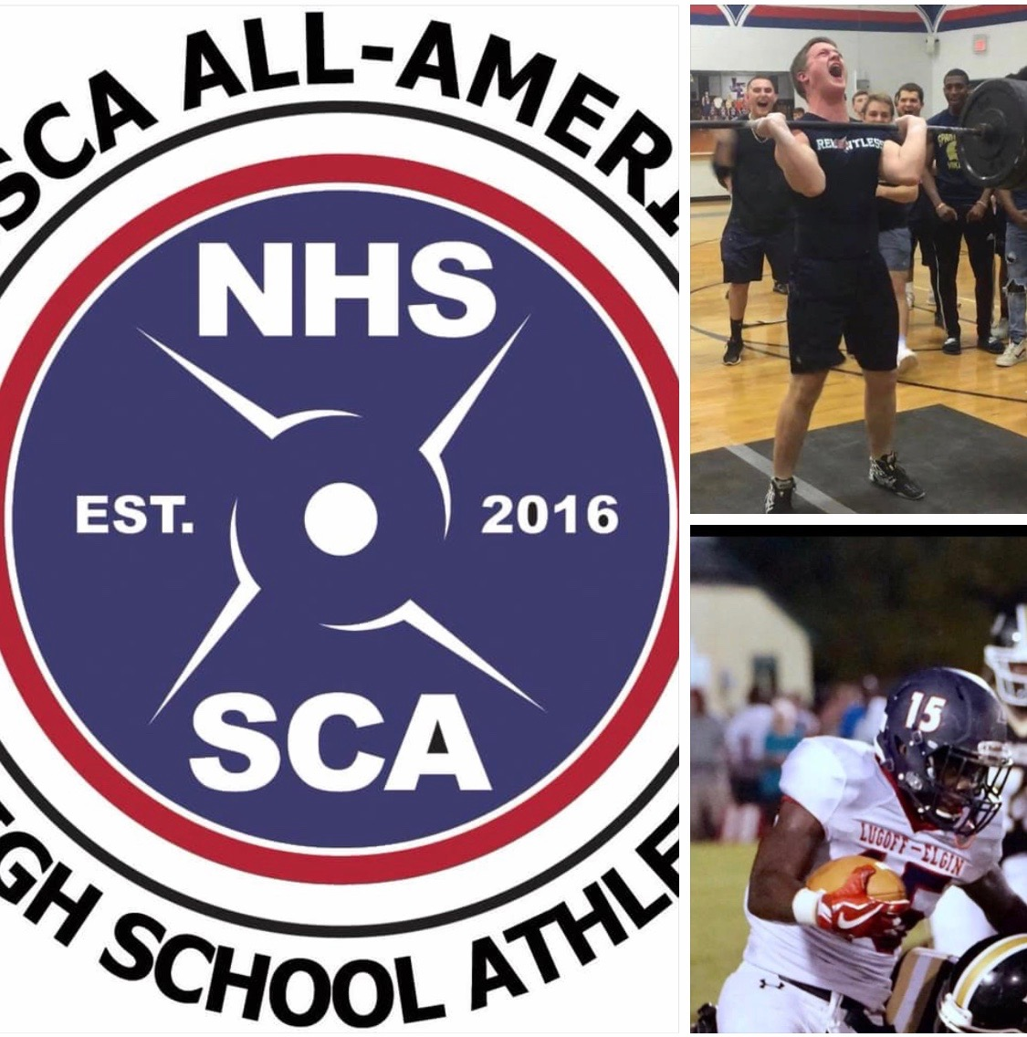 LE's Brown & Welch Named NHSSCA All-Americans
