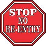 Athletics No Re-Entry Policy