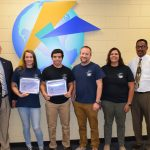 KC Board Recognizes Two State Swimmers