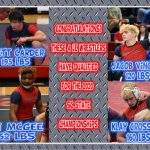4 Demon Wrestlers Qualify for State Championships