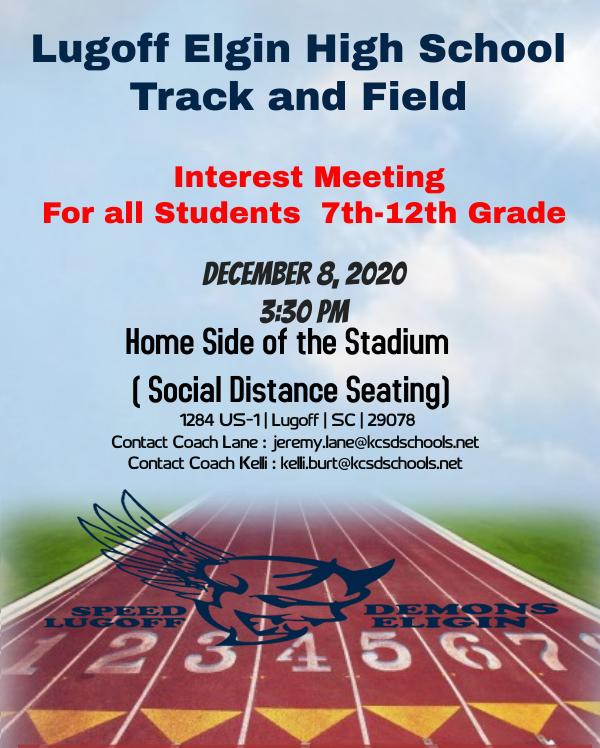 Track and Field Interest Meeting