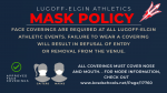 LEHS Athletics Face Mask Policy