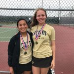 Tennis Winners at LCISD Tennis Tournament