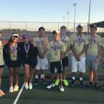 Varsity Tennis Dominates District Tournament