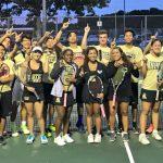 Foster Team Tennis Wins 3rd Straight District Championship