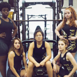 Falcon Lady Wrestlers in the December Issue of VYPE Magazine