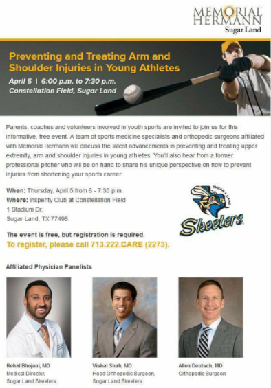 Preventing and Treating Arm and Shoulder Injuries in Young Athletes