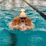 Swimming Wins 1st Meet at Home in New Aquatic Center 10/11/18