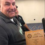 Foster Baseball's Coach Tosch Wins Victory Club Award