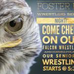 1/24/19 – Wrestling Senior Night
