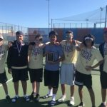 Freshman Boys Tennis District Champions!