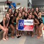 Girls Water Polo State Champs; Boys Runner Up