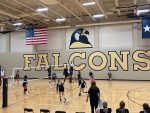 Foster Falcon Freshman Volleyball WIN!