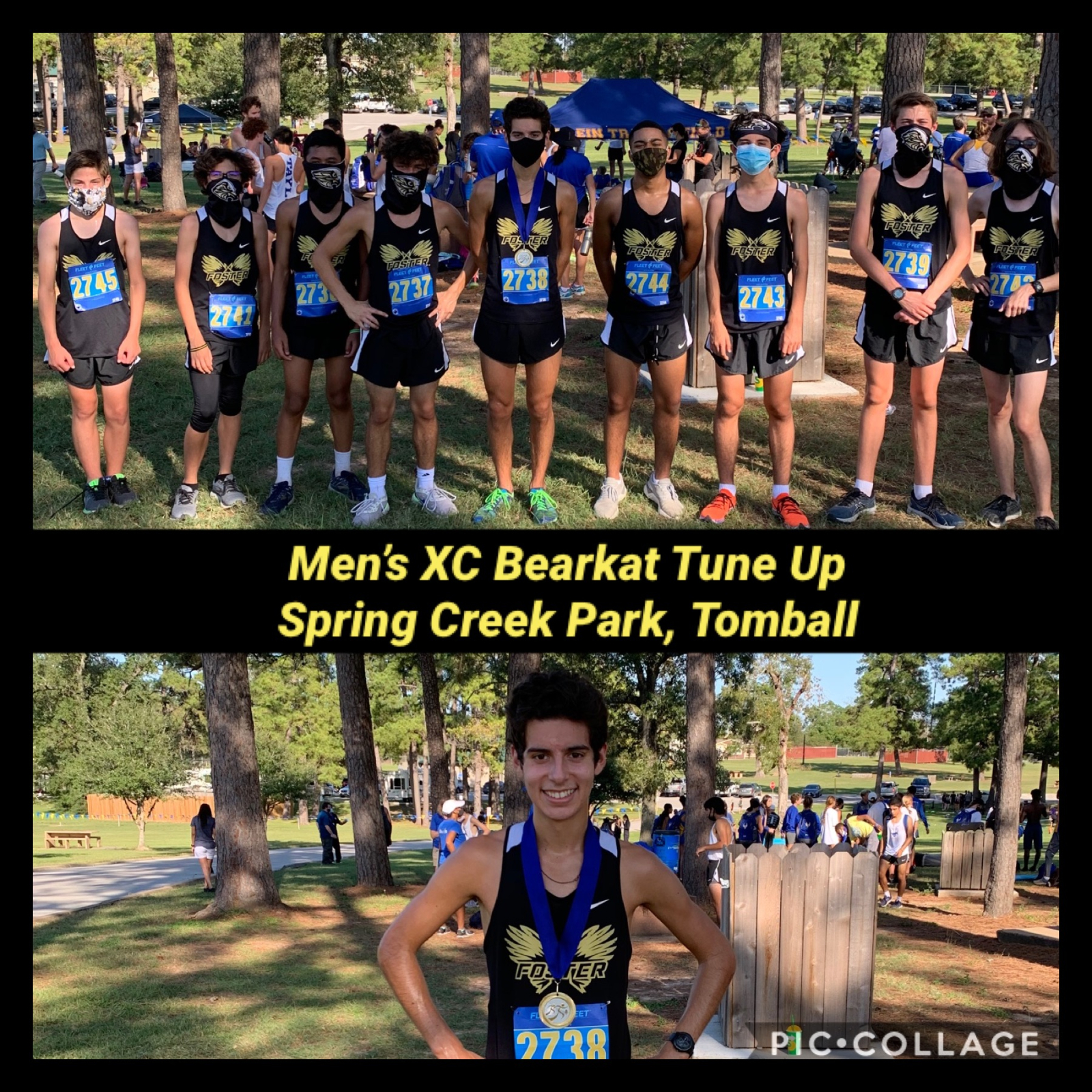 Men's XC Bearkat Tune Up Spring Creek Park, Tomball