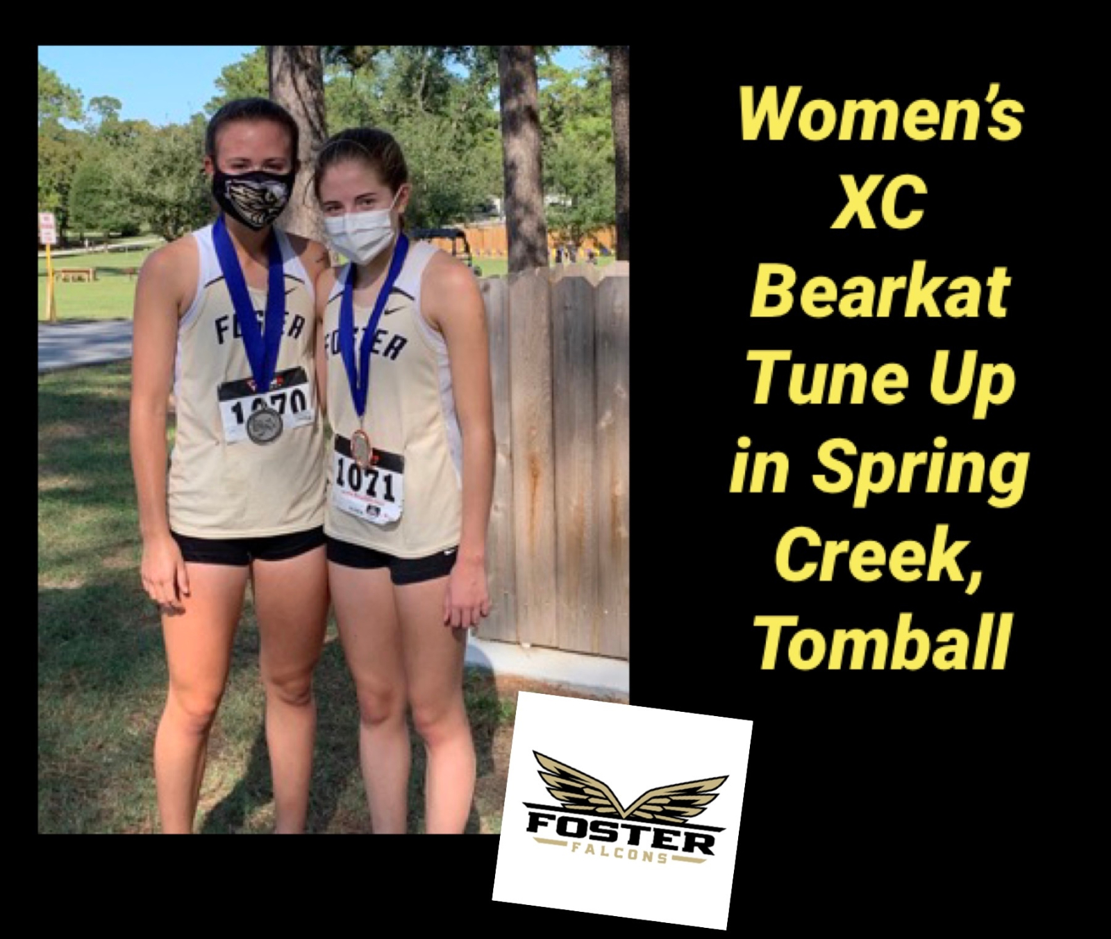 Women's XC Bearkat Tune Up Spring Creek Park, Tomball